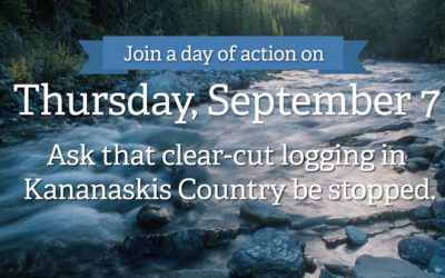 Support the Day of Action for Alberta's Headwaters